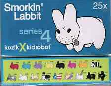 Frank Kozik for Kidrobot Smorkin Labbit Series 4 Complete Set of 25 SEALED RARE