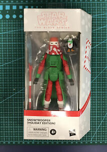 Star Wars - The Black Series - SNOWTROOPER + PORG - Holiday Edition Exclusive