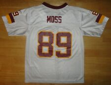 SANTANA MOSS Reebok WASHINGTON REDSKINS White Jersey - Youth Medium M
