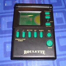 ROULETTE,  Electronic Handheld Travel Game Pocket Size Missing Flip Cover