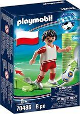 Playmobil ® 70486 Joueur Polonais - Footballer- Sport - Neuf - New - nuevo