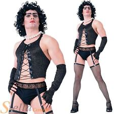 Adulte Frank N Furter homme Rocky Horror Show Halloween Fancy Dress Costume Outfit