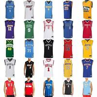 adidas NBA BASKETBALL JERSEY ROCKETS LAKERS BULLS KNICKS NETS CELTICS SPURS HEAT