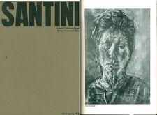 SANTINI Renato, Catalogo di mostra, Comune di Santa Croce sull'Arno 1972