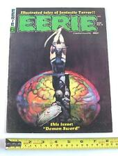 EERIE #8 MARCH 1967, USA ILLUSTRATED HORROR MAGAZINE, WARREN PUBLISHING, FINE