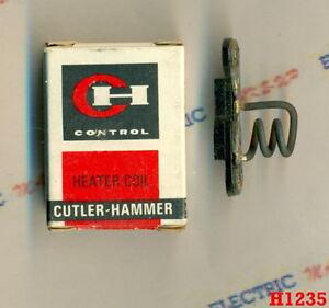 NEW Cutler Hammer HEATER COIL H1235 10177H 1235 1235A