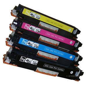 4 PK CE310A CE311A CE312A CE313A Toner For HP CP1025nw, MFP M175nw