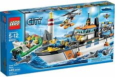 LEGO City Coast Guard Patrol (#60014)(Retired 2013)(Very Rare)(NEW)