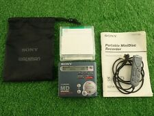 Sony Walkman MZ-R70 Personal MiniDisc Player Recorder
