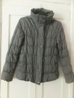 MARKS & SPENCER DUSTED PLUM FOLD AWAY HOOD  Puffer/quilted Jacket Size SMALL