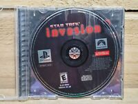 Star Trek: Invasion (Sony PlayStation 1, 2000) PS1 Video Game With Case Tested
