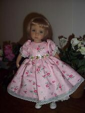 "Pretty floral Dress for 13"" Effner Little Darling Dolls"