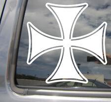 Maltese Iron Cross - Prussia Car Laptop Bumper Window Vinyl Decal Sticker 10294