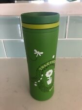 Starbucks 2010 Travel Recycled Plastic Mug 8oz Green Excellent