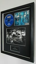 Oasis-Supersonic-Framed Original CD-Limited Edition-Metal Plaque-Certificate