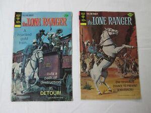 1976, The Lone Ranger, Gold Key Comic Books, July #25  &  September #26