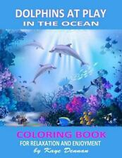 Coloring Books for Adults: Dolphins at Play in the Ocean : Coloring Book for...