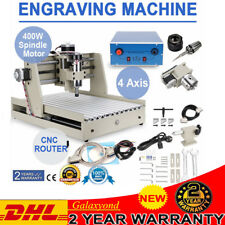 CNC ROUTER 3040 4 ASSI MACCHINA PER INCISIONI Engraver Machine 3D Drilling 400W