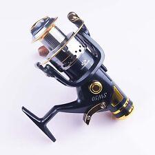 9+1BB 5.2:1  Aluminu Spool Spining Fishing Reel Double Drag (front/rear drag)