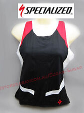 - New - Specialized Women's Cycling Tank Canotta With Inner Protection - Size M