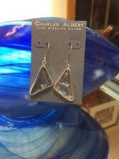 Charles Albert Sterling Silver Absolute Vodka Earrings
