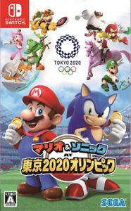 Mario & Sonic AT Tokyo 2020 Olympics Nintendo Switch Japan/English Tracking NEW