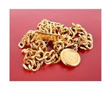 Chanel Vintage Belt Necklace Chain Medallion CC Rue Cambon