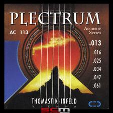 THOMASTIK PLECTRUM AC113 13-61 BRONZE ACOUSTIC GUITAR STRING SET SUPERB TONE