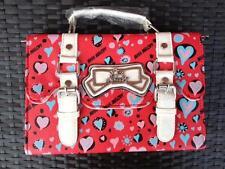 Heart Red Satchel Bag