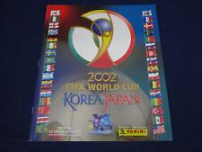 Panini WM World Cup 02 Korea Japan 2002, empty album/Leeralbum, VGC / sehr gut