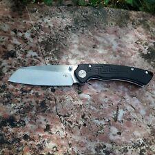 CH nouveau couteau pliant TOUCAN Lame acier D2 manche G10 roulement à billes EDC