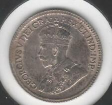 1920 BRILLIANT UNCIRCULATED Canadian Five Cents Silver #1 (die cracks obverse)