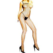 Body Stockings Dress Sleepwear New Women's High Fishnet Thigh Lingerie Babydoll