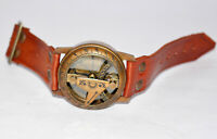 Antique vintage brass compass collectible watch style sundial compass gift item