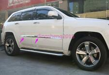 For Jeep Grand Cherokee 2014-2017 Chrome Door Body Side Molding Cover Trim 4PCS