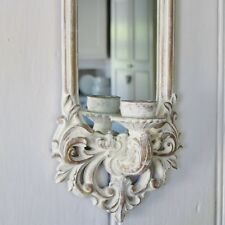 Mirrored Wall Sconce Candle Holder