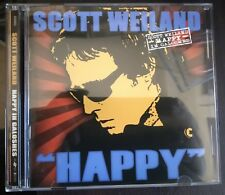 """Scott Weiland – """"Happy"""" In Galoshes CD Us Softdrive Records  NM"""