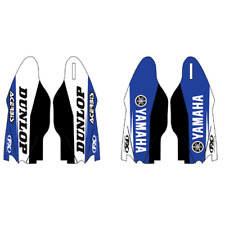 Sponsor Logo Lower Fork Guard Graphics~1998 Yamaha YZ400F Factory Effex 17-40262