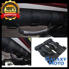 87-16 Jeep Wrangler JK TJ YJ Extreme Sport Black Rear Side Bar Grab Handle Pair