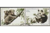 Australia 1995 SG1549-1550 Joint Issue with China pair FU