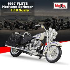 1:18 Scale Model Harley Davidson 1997 FLSTS Heritage Springer Motorcycle