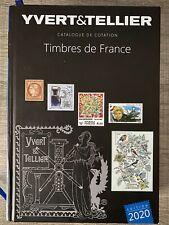 """Catalogue de cotation """"Timbre de FRANCE 2020""""  YVERT et TELLIER"""