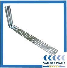 25 Stück Vario Schalklammer, Abschalwinkel, Lochblech, Schalwinkel 115-365 mm