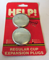 "Set of 2 Help 10515 1.640"" Expansion Plug Frost Plug 1-41/64"" 555-068 362660"