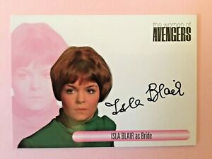 Isla Blair as Bride The Women Of The Avengers Autograph Signed Card WAIB