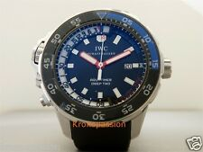IWC Aquatimer Deep Two 46mm Stainless Steel Black Rubber IW354702