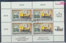 Autriche 2270I Feuille miniature oblitéré 1998 wipa 2000 (7783314