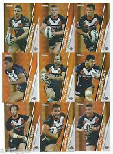 2015 NRL Traders Parallel WESTS TIGERS Team Set