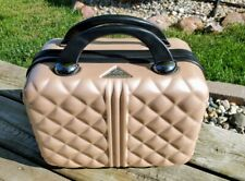 Triforce Makeup Case Bag Luggage Rose Gold Color