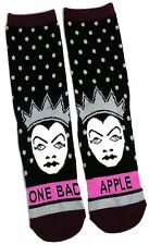 Damen Disney Villains Snow White bösen Königin Bad Apple-Socken Uk 08.04 Us 6-10
